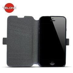 Kaitseümbris Telone Super Slim Shine Book Case sobib Huawei P9, must