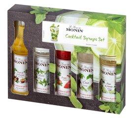 Siirupikomplekt kokteilidele Monin, 5 × 50 ml hind ja info | Joogid | kaup24.ee