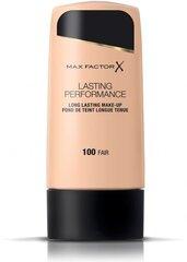 Jumestuskreem Lasting Performance Max Factor 35 ml, 101 Ivory Beige hind ja info | Jumestuskreemid, puudrid | kaup24.ee