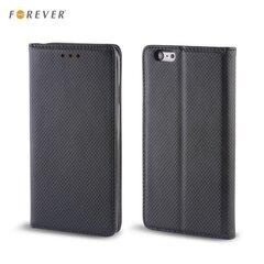 Kaitseümbris Forever Smart Magnetic Fix Book sobib Sony Xperia M4 Aqua, must