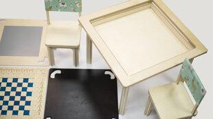 Arendav laud lastele Timberoom M, alusraam sinist värvi hind ja info | Laste lauad ja toolid | kaup24.ee