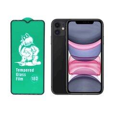 Fusion Full Glue 18D Tempered Glass Защитное стекло для экрана Apple iPhone 11 Pro Max Черное цена и информация | Fusion Full Glue 18D Tempered Glass Защитное стекло для экрана Apple iPhone 11 Pro Max Черное | kaup24.ee