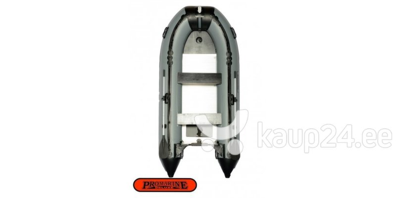 PVC paat ProMarine Deluxe DAL380, hall/must