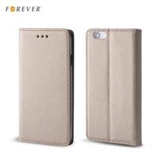 Kaitseümbris Forever Smart Magnetic Fix Book sobib Samsung Galaxy J7 (J710F), kuldne