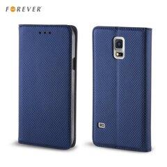 Kaitseümbris Forever Smart Magnetic Fix Book sobib Samsung Galaxy J3 (J320F), tumesinine