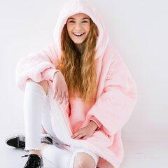 Laste roosa Mõnnakas hind ja info | Tüdrukute hommikumantlid ja pidžaamad | kaup24.ee