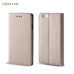 Kaitseümbris Forever Smart Magnetic Fix Book Huawei Ascend Y5 II (2016), kuldne