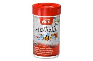 Akvaariumikalade toit Aquael Acti ActiMin, 1000 ml