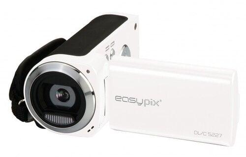 Videokaamera EasyPix DVC5227, Valge