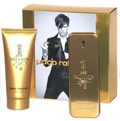 Komplekt Paco Rabanne 1 Million: EDT meestele 100 ml + dušigeel 100 ml