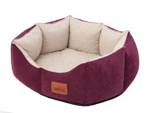 Koera pesa Hobbydog New York Premium, L, Bordo, 60x52 cm hind ja info | Koera pesa Hobbydog New York Premium, L, Bordo, 60x52 cm | kaup24.ee