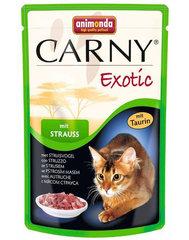 Animonda Carny Exotic kassikonserv jaanalinnulihaga, 85 g hind ja info | Konservid kassidele | kaup24.ee