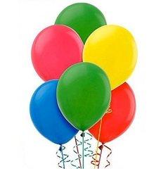 Värvilised õhupallid, 20 tk hind ja info | Peolaua kaunistused, dekoratsioonid | kaup24.ee
