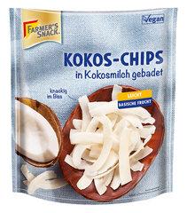 Kookoslaastud Farmer's Snack, 100 g hind ja info | Pähklid, seemned, kuivatatud puuviljad | kaup24.ee