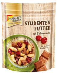 Pähklisegu šokolaadiga Farmer's Snack, 115 g hind ja info | Pähklid, seemned, kuivatatud puuviljad | kaup24.ee