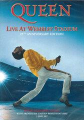 "DVD QUEEN ""Live At Wembley Stadium"" hind ja info | Vinüülplaadid, CD, DVD | kaup24.ee"