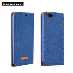 Kaitseümbris Forcell Canvas Flexi sobib Samsung Galaxy S7 (G930F), sinine