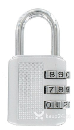 Навесной замок TOKO с кодом, 32x61 мм