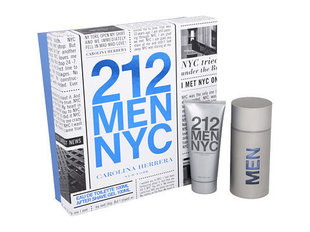 Komplekt Carolina Herrera 212 Men: EDT meestele 100 ml + dušigeel 100 ml