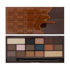 Палетка теней Makeup Revolution London I Heart Chocolate Salted Caramel 22 г