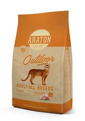 Araton Cat Adult Outdoor sausas maistas suaugusioms katėms, 1.5 kg hind ja info | Araton Cat Adult Outdoor sausas maistas suaugusioms katėms, 1.5 kg | kaup24.ee