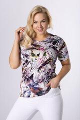Pluus plus size 106114 Värviline hind ja info | Naiste pluusid, särgid | kaup24.ee
