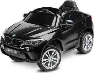 Laste elektriauto Toyz BMW X6 M, must hind ja info | Elektrilised autod | kaup24.ee