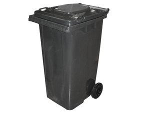 Уличный контейнер 240 л, серый цена и информация | Уличные контейнеры, контейнеры для компоста | kaup24.ee