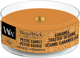 Lõhnaküünal WoodWick Petite Caramel Toasted Sesame, 31 g hind ja info | Küünlad, küünlajalad | kaup24.ee