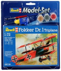 Модель самолета FOKKER Dr.1 Triplane