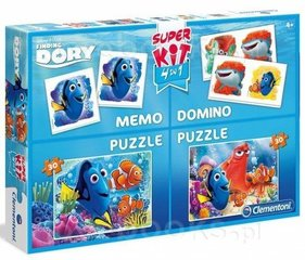 Lauamängude komplekt Clementoni Finding Dory 4in1