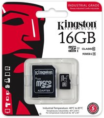 Mälukaart Kingston micro SD 16GB Class 10 U1 +adapter hind ja info | Mälukaart Kingston micro SD 16GB Class 10 U1 +adapter | kaup24.ee