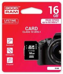 Mälukaart Goodram SDHC 16GB Class 10