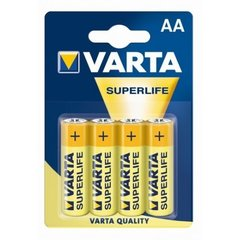 Varta AA Superlife 4 шт. цена и информация | Батарейки | kaup24.ee