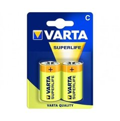 Varta Superlife C patarei, 2 tk