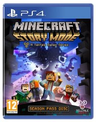 Mäng Minecraft Story Mode: The Complete Adventure (PS4)