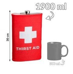 Hiigel plasku Thirst Aid цена и информация | Originaalsed seltskonnamängud | kaup24.ee