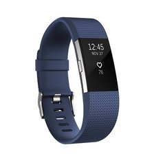Nutikell Fitbit Charge 2 L, Sinine/Hõbedane цена и информация | Nutikellad (Smart Watch) | kaup24.ee