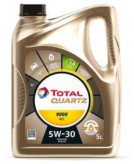 Mootoriõli TOTAL Quartz 9000 NFC 5W-30, 5L hind ja info | Mootoriõlid | kaup24.ee