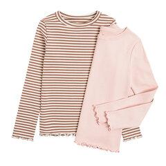 Cool Club särk pikkade varrukatega tüdrukutele, 2 tk, CCG2320897-00 hind ja info | Tüdrukute särgid | kaup24.ee