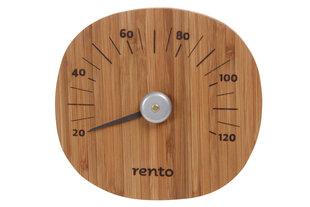 Sauna termomeeter Rento, bambus, 15x14x2cm