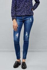Naiste teksapüksid Moodo, sinine XIII