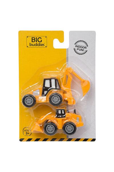 2 mänguautot BIG Buddies BB01005, 1 tk hind ja info | Poiste mänguasjad | kaup24.ee