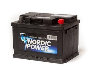 Aku Nordic Power 60Ah 520A