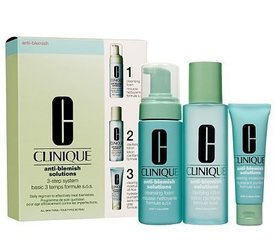 Komplekt Clinique Anti-Blemish Solutions 3-Step System