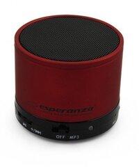 Bluetooth kõlar Esperanza EP115C RITMO, punane