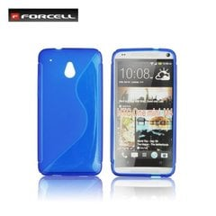 Kaitseümbris Forcell Back Case sobib HTC One mini M4, sinine