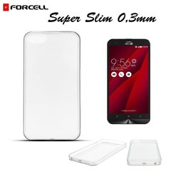Kaitseümbris Forcell Ultra Slim 0.3mm Back Case Asus Zenfone 2 Laser ZE550KL Transaprent