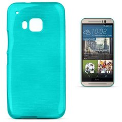 Kaitseümbris Forcell Jelly Brush Pearl Back Case sobib HTC One M9, sinine цена и информация | Чехлы для телефонов | kaup24.ee