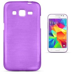 Kaitseümbris Forcell Jelly Brush Pearl Back Case sobib Samsung Galaxy Core Prime (G360, G361), lilla